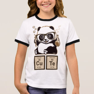 Chemistry panda discovered cute ringer T-Shirt