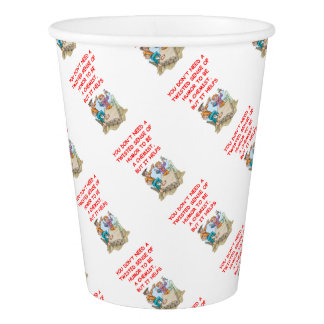 chemistry paper cup