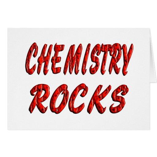 Chemistry ROCKS Greeting Cards