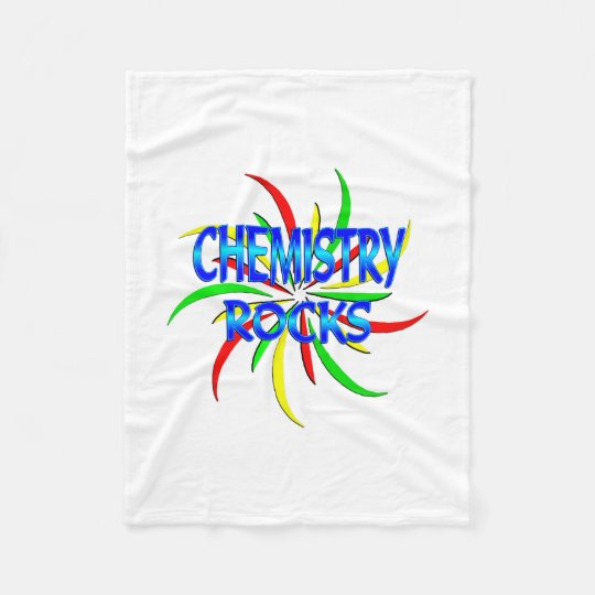 Chemistry Rocks Fleece Blanket