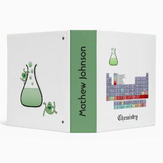 Chemistry School Binder