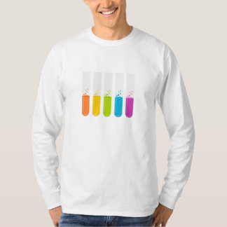Chemistry Science Test Tubes T-shirts