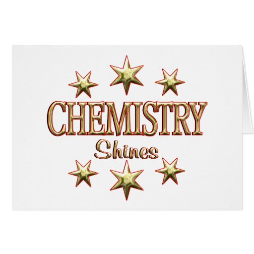Chemistry Shines Card