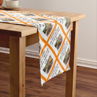 CHEMISTRY SHORT TABLE RUNNER