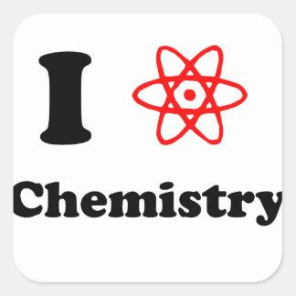 Chemistry Square Sticker