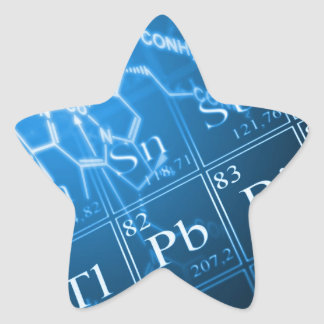 Chemistry Star Stickers
