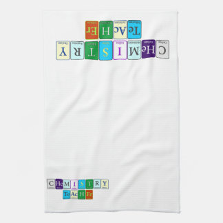Chemistry Teacher Kitchen Towel