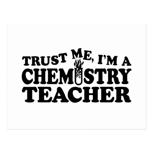Chemistry Teacher Post Card