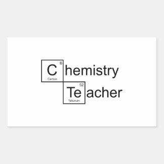 Chemistry Teacher Sticker