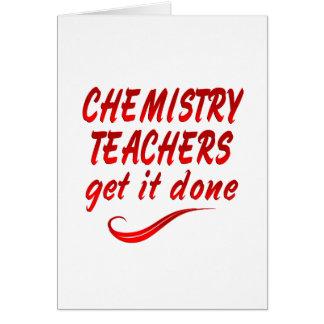 Chemistry Teachers Cards