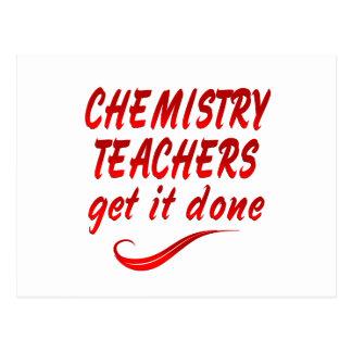 Chemistry Teachers Postcards