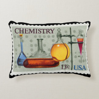 Chemistry~ U.S. Stamp~ American Chemical Society ~ Decorative Pillow