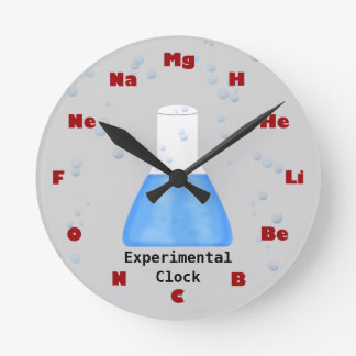 Chemistry Wall Clock -- Experimental Clock