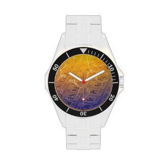 Chemistry Wrist Watch