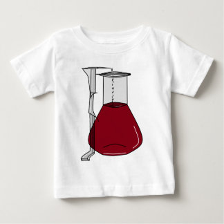 Chemists Chemistry Beakers Test Tubes Solutions Baby T-Shirt