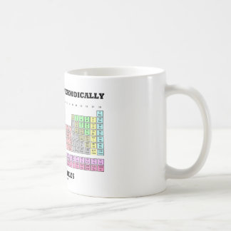 Chemists Do It Periodically With Tables Coffee Mug