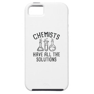 Chemists Have All The Solutions iPhone 5 Cover