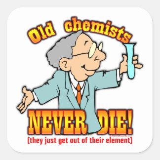 Chemists Square Sticker