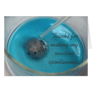 Chemists' Thank You Card (v. II)
