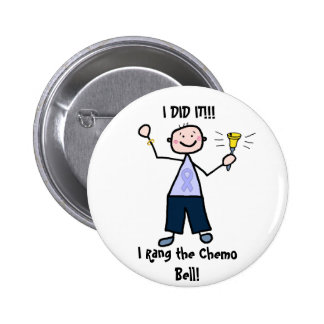 Chemo Bell - General Cancer Male 2 Inch Round Button