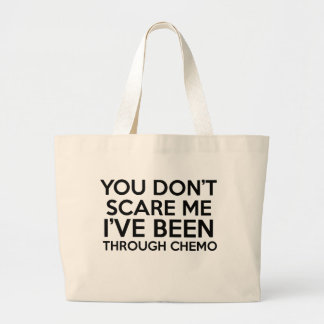 chemo cancer large tote bag
