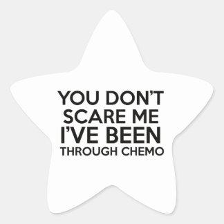 chemo cancer star sticker