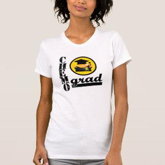 Chemo Grad Childhood Cancer Ribbon T-Shirt