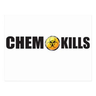 Chemo kills campaign post card