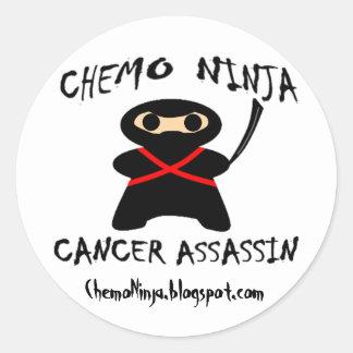 Chemo Ninja Stickers