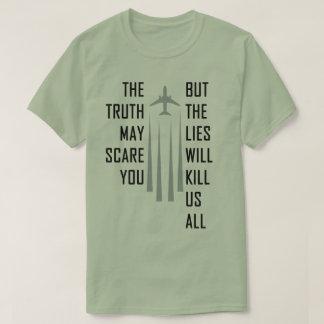 Chemtrail Lies Tee Shirt