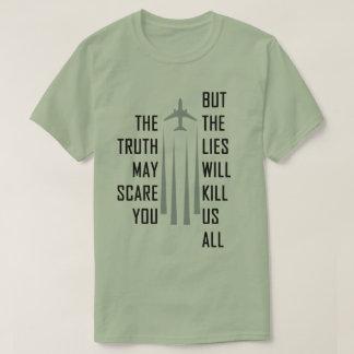 Chemtrail Lies Tee Shirts