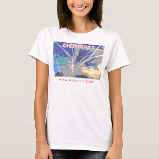 Chemtrails Criss-Cross Sky Shirt