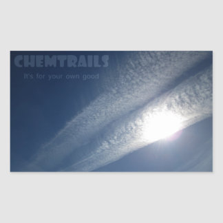 Chemtrails It's for your own good Sticker