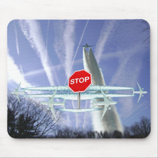 Chemtrails Mouse Pad