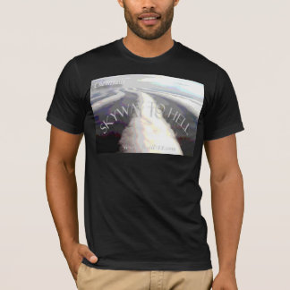 "Chemtrails / "" Skyway to Hell "" T-Shirt"