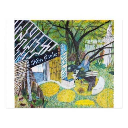 Chen Ecole Postcards
