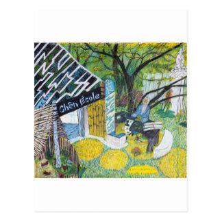 Chen Ecole Postcard