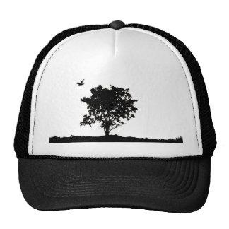 Chêne noir et blanc avec haine de camionneur de co casquette de camionneur