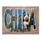 Chengdu, China Postcard