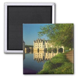 Chenonceau Chateau, Loire Valley, Square Magnet