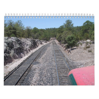 Chepe, Copper Canyon and Surrounding Areas Calendars