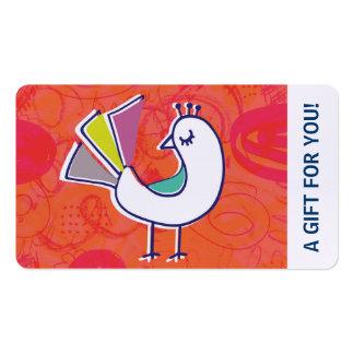 Chèque-cadeau, certificat-prime, D2-052115 Carte De Visite Standard