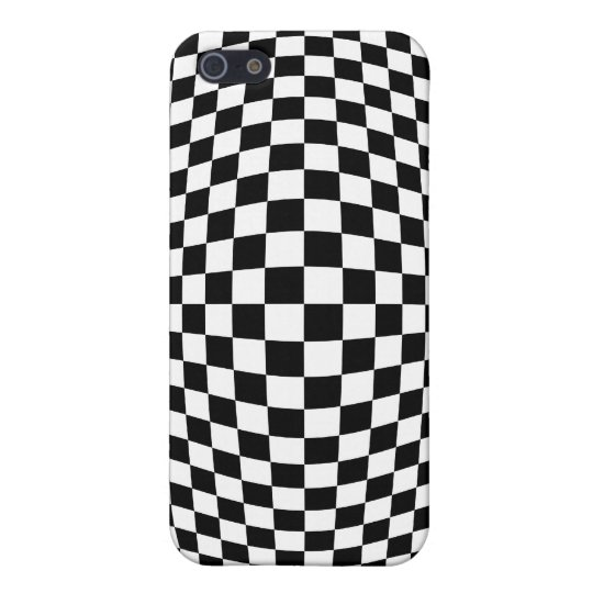 Chequerboard optical illusion iPhone 5/5S case