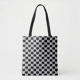 Chequered BALF Tote Bag