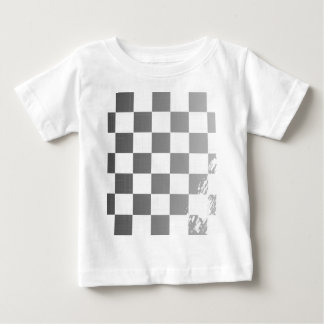 Chequered Flag Grunge Baby T-Shirt