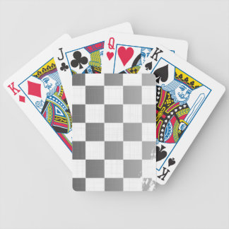 Chequered Flag Grunge Bicycle Playing Cards