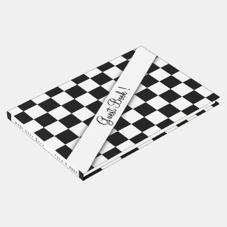 Chequered Flag Guest Book