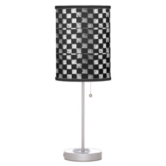 Chequered Flag Lamp