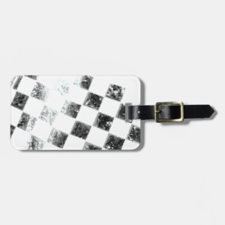 Chequered Flag Luggage Tag
