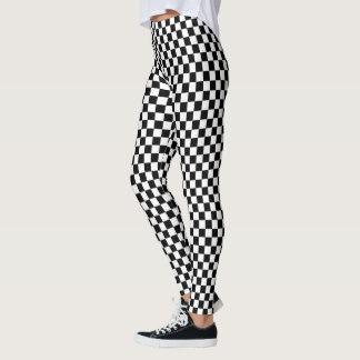 Chequered Leggings